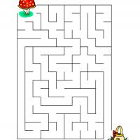 Printable Help The Girl Get The Eggs - Printable Mazes - Free Printable Games