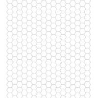Printable Hexagon Graphing Paper - Printable Graphs - Misc Printables