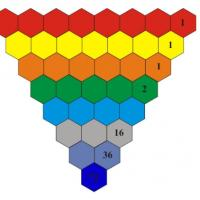Printable Hexagon Number Puzzle Game - Printable Brain Teasers - Free Printable Games