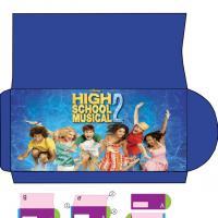 High School Musical Envelope