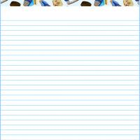 Printable Hockey Stationary - Printable Stationary - Free Printable Activities