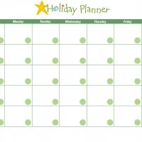Printable Holiday Planner - Printable Chore Charts - Free Printable Activities