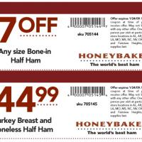 Honeybaked $7 Off in Any Bone-in Half Ham