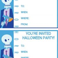 Horror Halloween Party Invitation