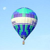 Hot Air Balloon On The Sky