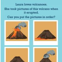 Printable Science: Hot Lava Sequencing - Printable Preschool Worksheets - Free Printable Worksheets