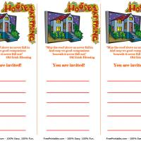 Printable Housewarming Invitation - Printable Party Invitation Cards - Free Printable Invitations