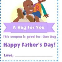 Hug For You On Father's Day
