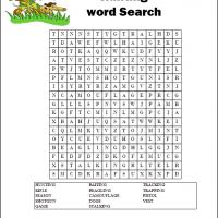 Printable Hunting Word Search - Printable Word Search - Free Printable Games