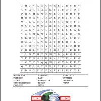 Printable Hurricanes Word Search - Printable Word Search - Free Printable Games