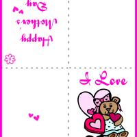 Printable I Love Mom Card - Printable Mothers Day Cards - Free Printable Cards