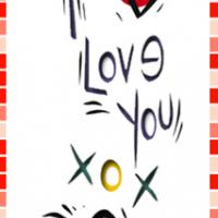 Printable I Love You Bookmark - Printable Bookmarks - Free Printable Crafts