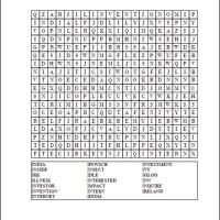 Printable I Word Search - Printable Word Search - Free Printable Games