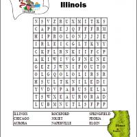 Printable Illinois Word Search - Printable Word Search - Free Printable Games