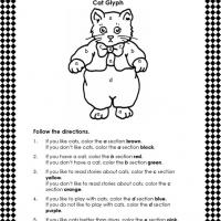 Printable Instructional Coloring Lesson - Printable Classroom Lessons - Free Printable Lessons