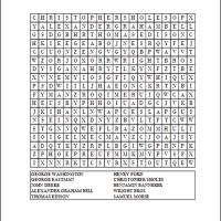 Inventors Word Search