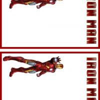 Printable Iron Man Stationary - Printable Stationary - Free Printable Activities