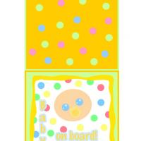 It's Dotty Baby Card