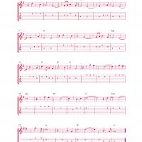 Printable It's Now Or Never Guitar Music - Printable Guitar Music - Free Printable Music