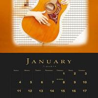 January Music Theme Calendar