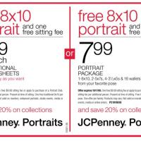 JC Penney Portraits Coupons