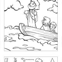 Printable Jesus Calms The Storm - Printable Brain Teasers - Free Printable Games