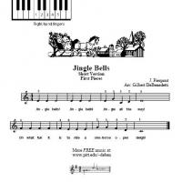 Printable Jingle Bells For Piano - Printable Piano Music - Free Printable Music