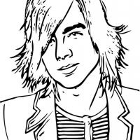 Printable Joe Jonas - Printable Coloring Sheets - Free Printable Coloring Pages