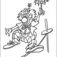 Printable Joker The Entertainer - Printable Coloring Sheets - Free Printable Coloring Pages