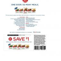 Joy of Cooking Save $1 on Frozen Item Purchase