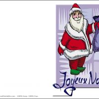 Printable Joyeux Noel - Printable Christmas Cards - Free Printable Cards