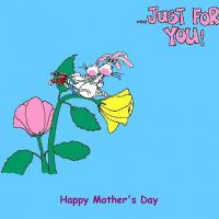 Printable Just For You Postcard - Printable Mothers Day Cards - Free Printable Cards
