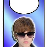 Printable Justin Bieber Door Hanger - Printable Fun - Free Printable Activities