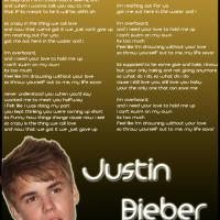 Justin Bieber Overboard Lyrics