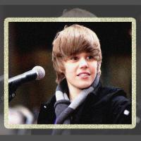 Justin Bieber Photo Frame