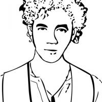 Printable Kevin Jonas - Printable Coloring Sheets - Free Printable Coloring Pages