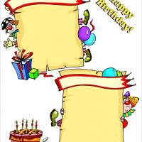 Printable Kids Birthday Layout - Printable Scrapbook - Free Printable Crafts