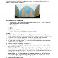 Printable Kids Project: Tissue Paper Stained Glass - Printable Church Worksheets and Lessons - Free Printable Worksheets