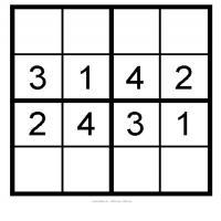Kids Sudoku 1