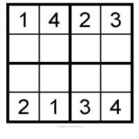 Printable Sudoku  Kids on Kids Sudoku 3