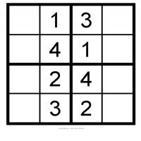 Kids Sudoku 6