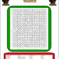 Printable Kwanzaa Word Search - Printable Word Search - Free Printable Games