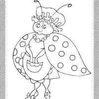 Printable ladybug - Printable Coloring Sheets - Free Printable Coloring Pages