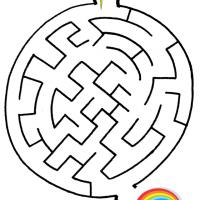 Printable Leprechaun's Pot of Gold - Printable Mazes - Free Printable Games