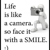 Printable Life is Like a Camera - Printable Motivational Quotes - Free Printable Quotes
