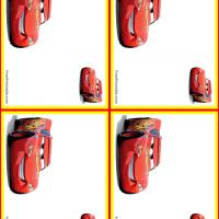 Lightning McQueen Name Tags