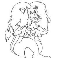 Printable Lion Coloring Sheet - Printable Coloring Sheets - Free Printable Coloring Pages
