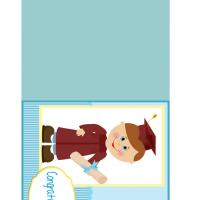 Little Boy Graduation Card