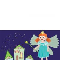 Printable Little Girl Fairy Card - Printable Greeting Cards - Free Printable Cards