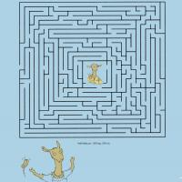 Printable Llama Maze - Printable Mazes - Free Printable Games